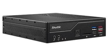 Shuttle presenta su mini PC de 1,3 litros para procesadores Intel de 10ª generación