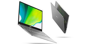 Acer muestra dos nuevos portátiles Ultraslim de su serie Swift en CES 2020