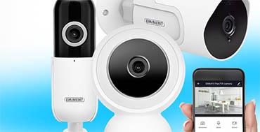 Las cámaras IP E-SmartLife de Ewent-Eminent mantienen a salvo las pertenencias del usuario con su aplicación gratuita