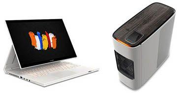 Llega la serie de equipos convertibles Acer ConceptD 7 Ezel y la estación de trabajo ConceptD 700 para creadores
