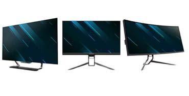 Acer amplía con tres nuevos modelos su línea de monitores gaming Predator