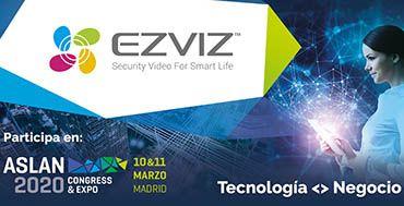 La marca de domótica inteligente EZVIZ se asocia con Aslan