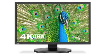 El nuevo monitor de sobremesa 4K de NEC ofrece una precisión y flexibilidad para las aplicaciones de color más profesionales