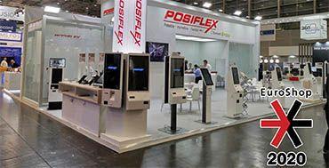 EK Mercury, nuevo producto de la gama de Quioscos de Posiflex, principal novedad en Euroshop 2020