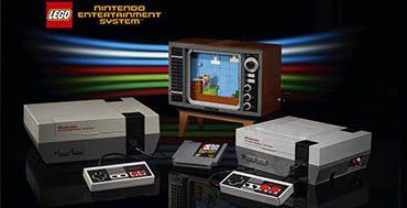Grupo LEGO y Nintendo presentan la edición clásica de LEGO Nintendo Entertainment System