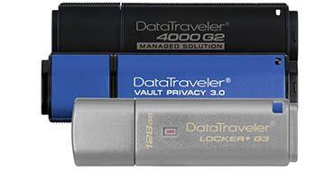 Nueva memoria USB cifrada Kingston de 128GB llega al mercado