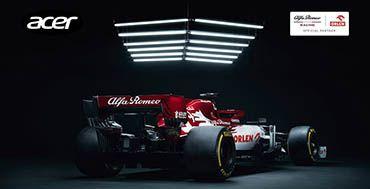 Alfa Romeo Racing ORLEN y Acer se unen para seguir innovando