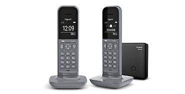 Un teléfono de línea fija de diseño fresco e innovador llega al mercado con el nuevo Gigaset CL390