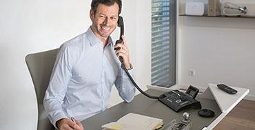 La telefonía DECT de Gigaset garantiza la seguridad en las conversaciones privadas