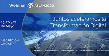 Aslan realizara un multi-webinar para acelerar la Transformación digital con soluciones de sus 130 empresas asociadas