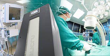 Salicru presta su colaboración a hospitales en el ámbito nacional e internacional