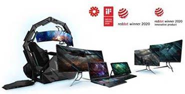 11 productos de Acer reciben premios Red Dot Awards 2020 por sus diseños