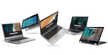 Acer lanza su nueva serie de Chromebooks para productividad y diversión en familia