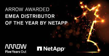 Arrow es premiado con el Partner Excellence Award EMEA 2020 de NetApp