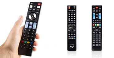 Con los mandos universales de Ewent controlas televisores y otros dispositivos