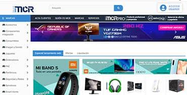 El mayorista de informática MCR ha presentado su nueva web corporativa