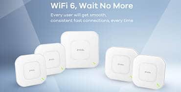 Dos modelos de Zyxel Networks completan la línea de puntos de acceso WiFi 6 para pymes