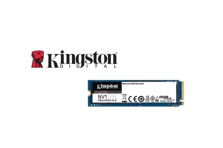 Kingston Digital da a conocer su nuevo SSD NVMe PCIe NV1, perfecto para portátiles y PCs de sobremesa pequeños
