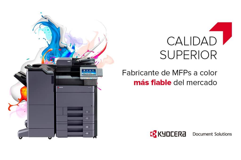 De acuerdo con Infocopy, es recomendable utilizar tóner original para alargar la vida útil de las máquinas Kyocera