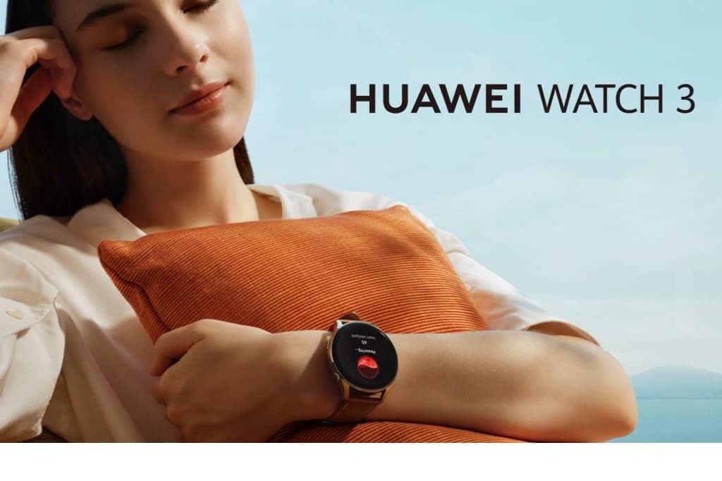 Huawei crea Watch 3 series, especialistas en monitorizar el estado físico