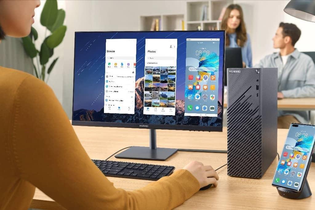 Huawei lanza el PC de sobremesa HUAWEI MateStation S