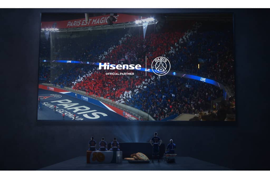 Hisense, patrocinador del Paris Saint-Germain