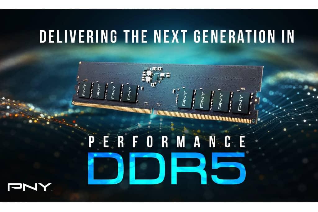 Nueva memoria Performance DDR5 para PC de PNY