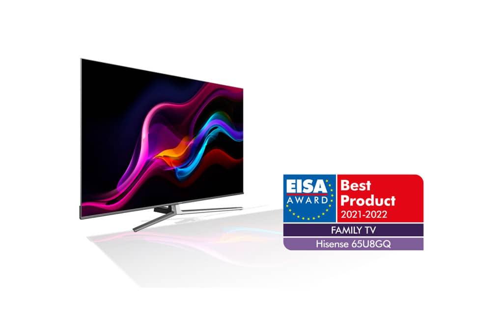 Hisense 65U8GQ, mejor televisor para el hogar