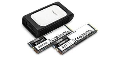 Kingston da a conocer su nueva línea de SSDs NVMe en el CES 2021