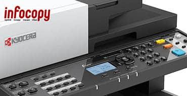 Infocopy distribuye la gama completa de dispositivos ECOSYS de Kyocera