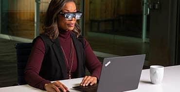 ThinkReality A3 de Lenovo, las nuevas gafas inteligentes para empresas más versátiles