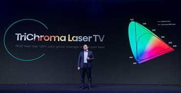 Una nueva era empieza con Hisense TriChroma Laser TV