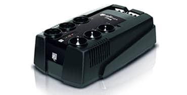 Los equipos domésticos pueden protegerse gracias a la gama de SAIs iPlug de Riello UPS