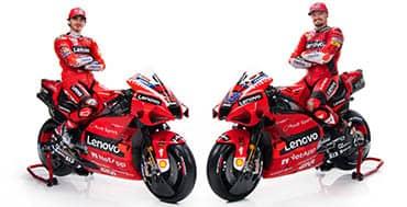 Lenovo es ahora socio principal de Ducati MotoGP