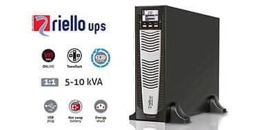 La gama de SAIs SDU Sentinel Dual de Riello UPS es perfecta para aplicaciones que necesitan fiabilidad máxima