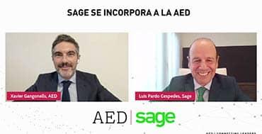 Sage entra en AED con la finalidad de contribuir con su experiencia en la transformación digital de las pymes