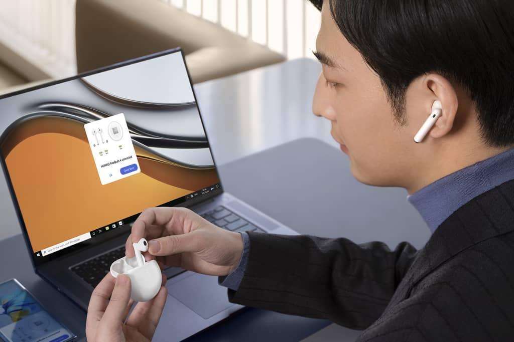 Los TWS HUAWEI FreeBuds 4 ofrecen cancelación activa de ruido mejorada y más confort