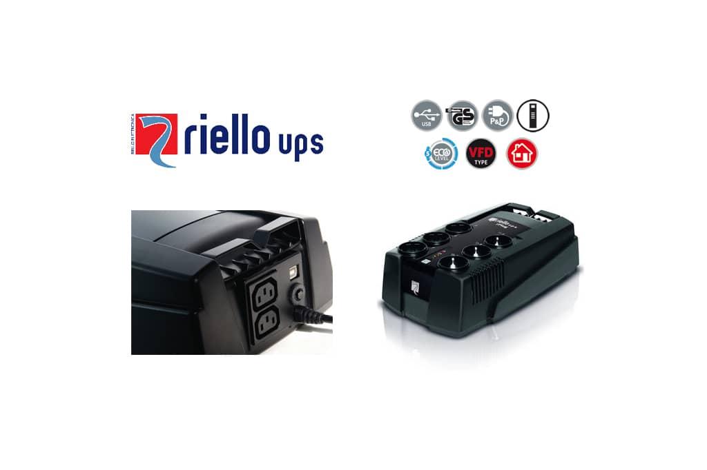 Riello UPS recomienda SAI iPlug para proteger los equipos del hogar