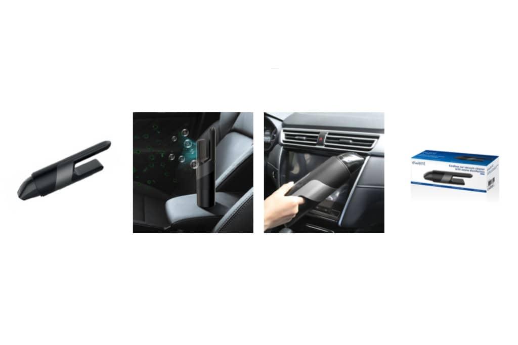 Ewent facilita la limpieza y desinfección por ozono para el coche