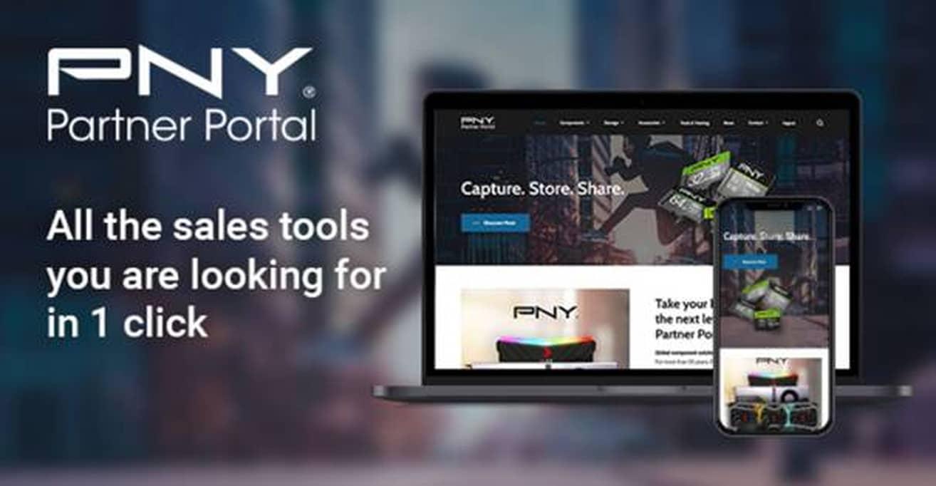 PNY mejora el contenido del PNY Partner Portal