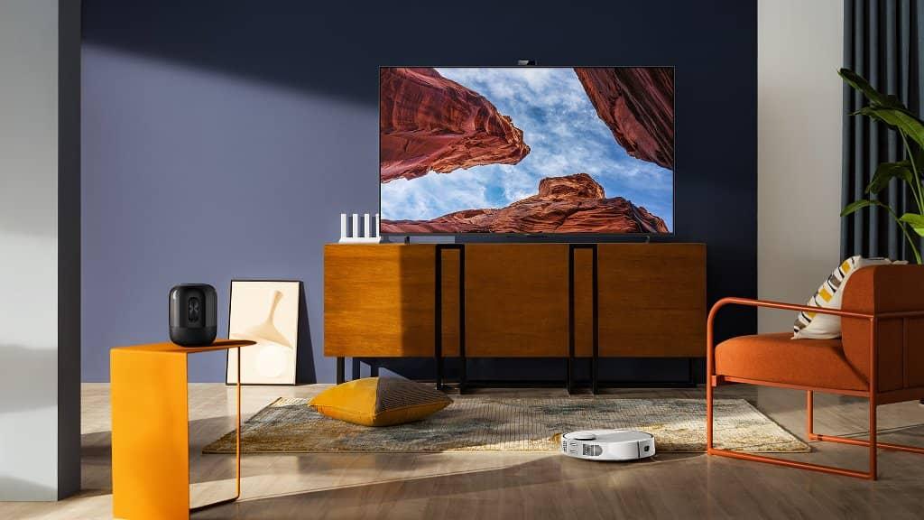 HUAWEI Vision S crea el salón del futuro con las Smart Screens