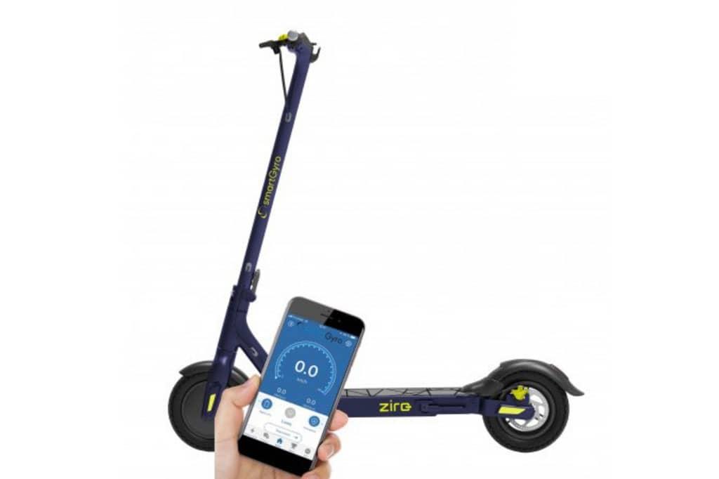Llega al mercado el nuevo patinete eléctrico urbano de Smartgyro: Ziro Blue