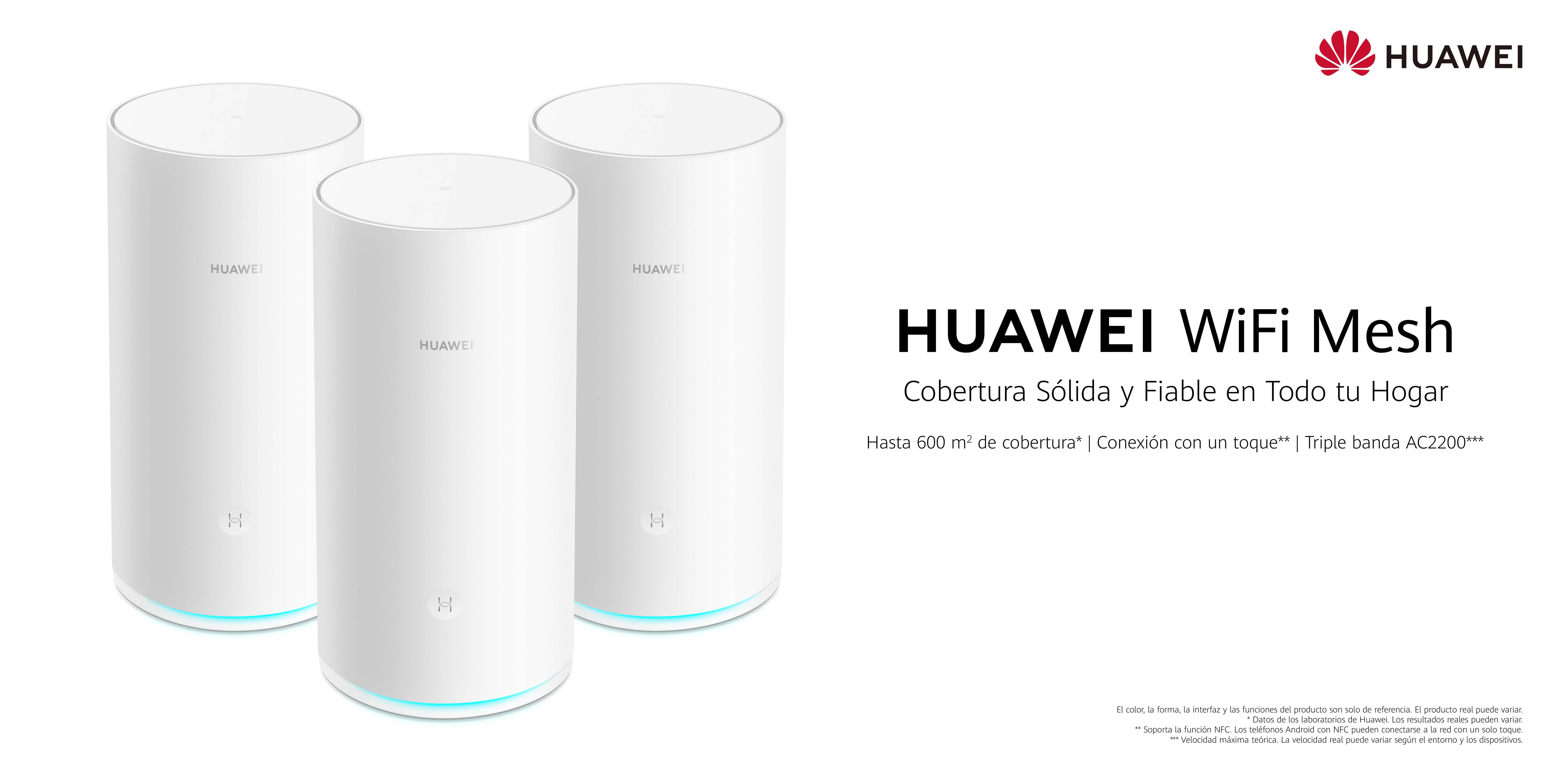 HUAWEI WiFi Mesh, la solución para resolver tus problemas de internet en casa