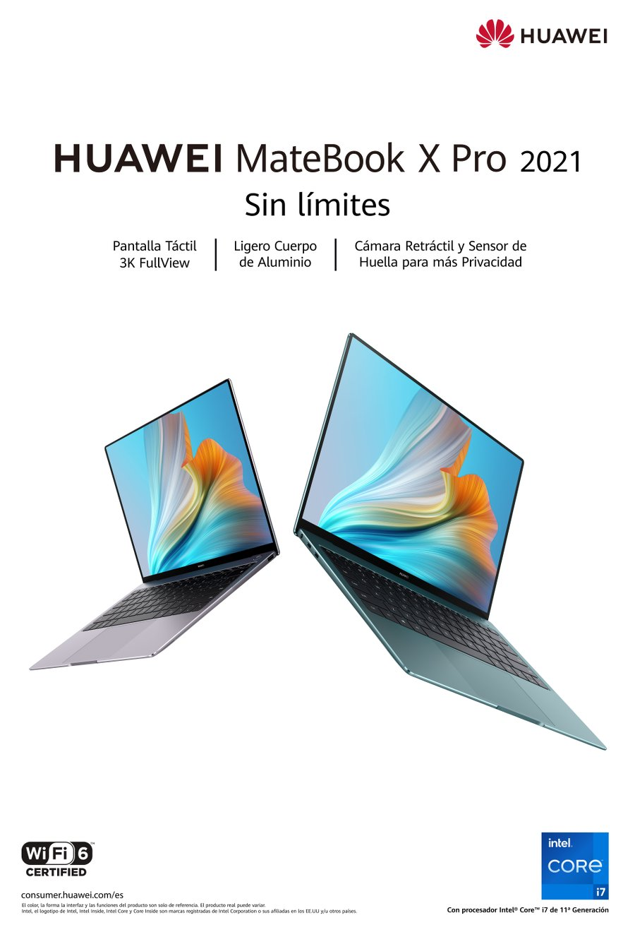 HUAWEI MateBook X Pro 2021, una nueva experiencia con un rendimiento sin límites