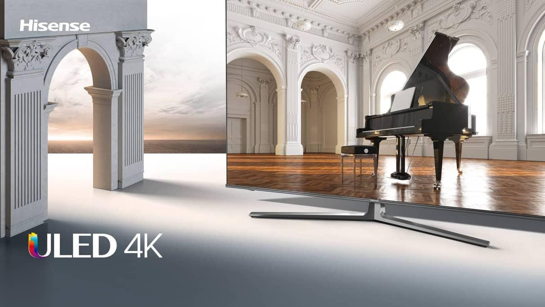 Hisense presenta una nueva gama de TVs
