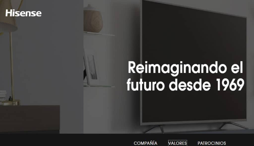 Hisense presenta su primer Laser TV con pantalla enrollable