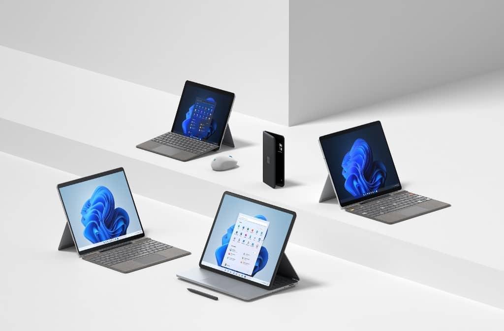 Microsoft presenta la familia Surface con nuevos dispositivos y accesorios pensados para Windows 11
