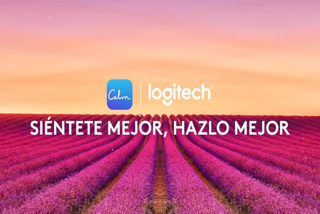 Logitech y la aplicación Calm, a la búsqueda del bienestar físico y mental