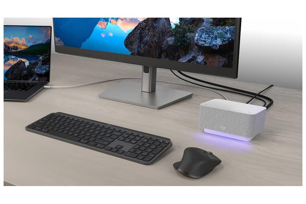 Logitech crea dock station para ordenar el escritorio