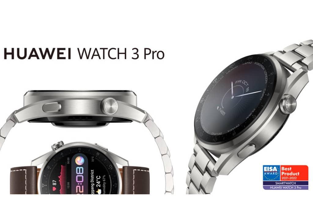 El Huawei Watch 3, mejor producto del año